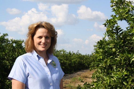 Our tour guide for the 41st Hendry County City Farm Tour - Callie Walker - of the Florida Farm Bureau.